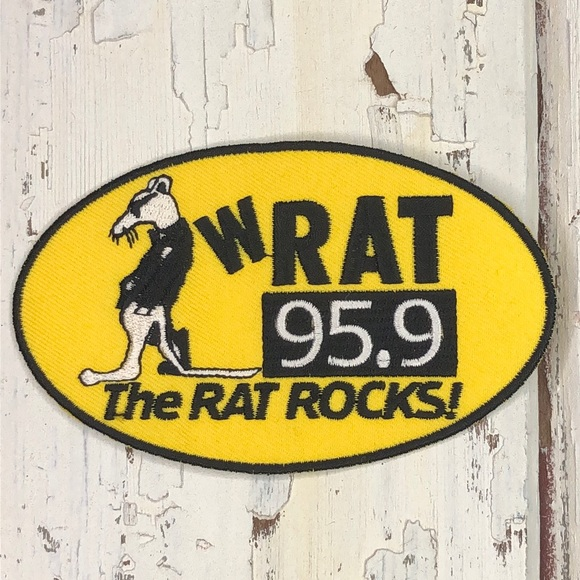 3/$10 - 1990s Patch - Vintage Radio Station Patch